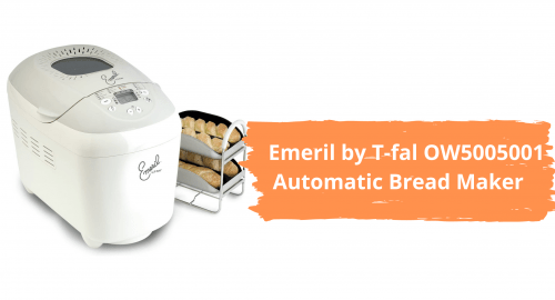 Emeril by T-fal OW5005001 3-Pound Automatic Bread Maker Machine